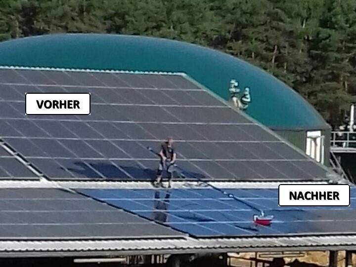 Photovoltaik Reinigung, Solarreinigung, Frank Galley