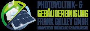 Photovoltaik Reinigung und Solarreinigung sowie Gebäudereinigung