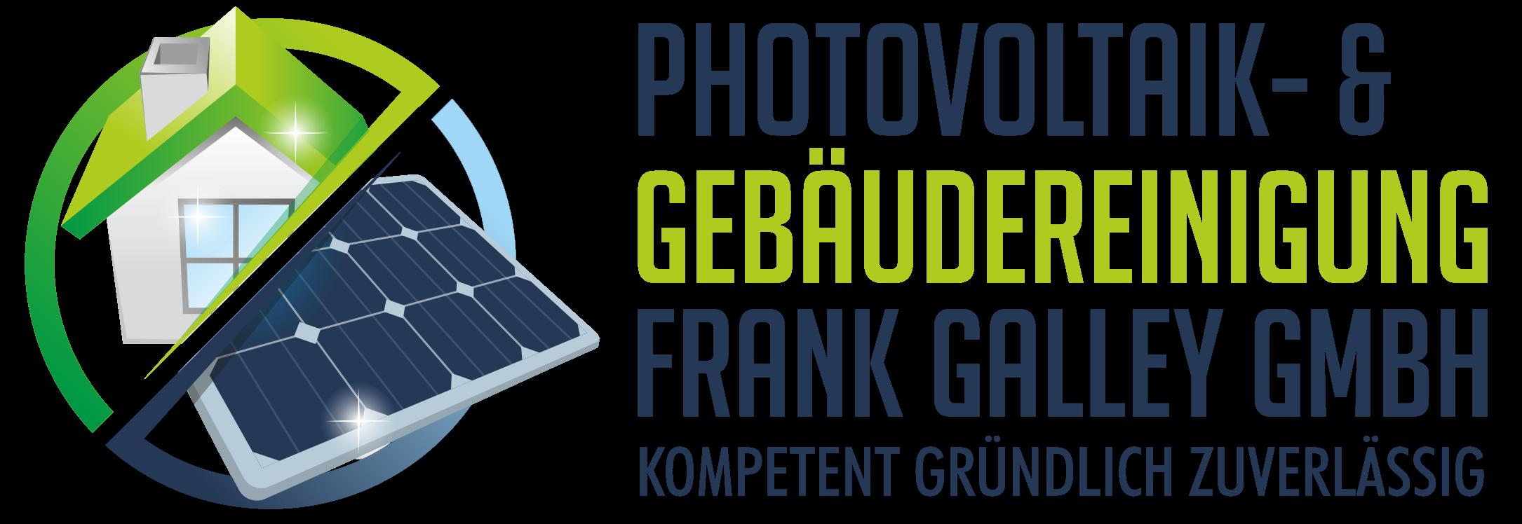 Photovoltaik Reinigung – & Gebäudereinigung Frank Galley